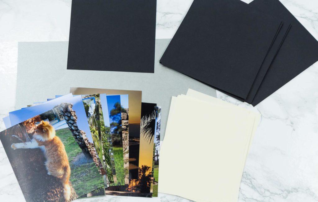 Foto Leporello basteln - Material