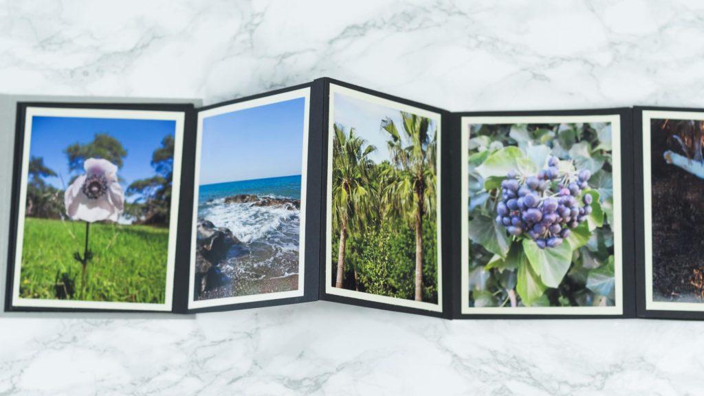 DIY Foto Leporello basteln - damit kannst du deine schönsten Fotos optimal in Szene setzen