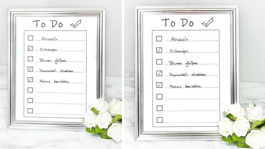 DIY Idee To Do Liste basteln Video Anleitung