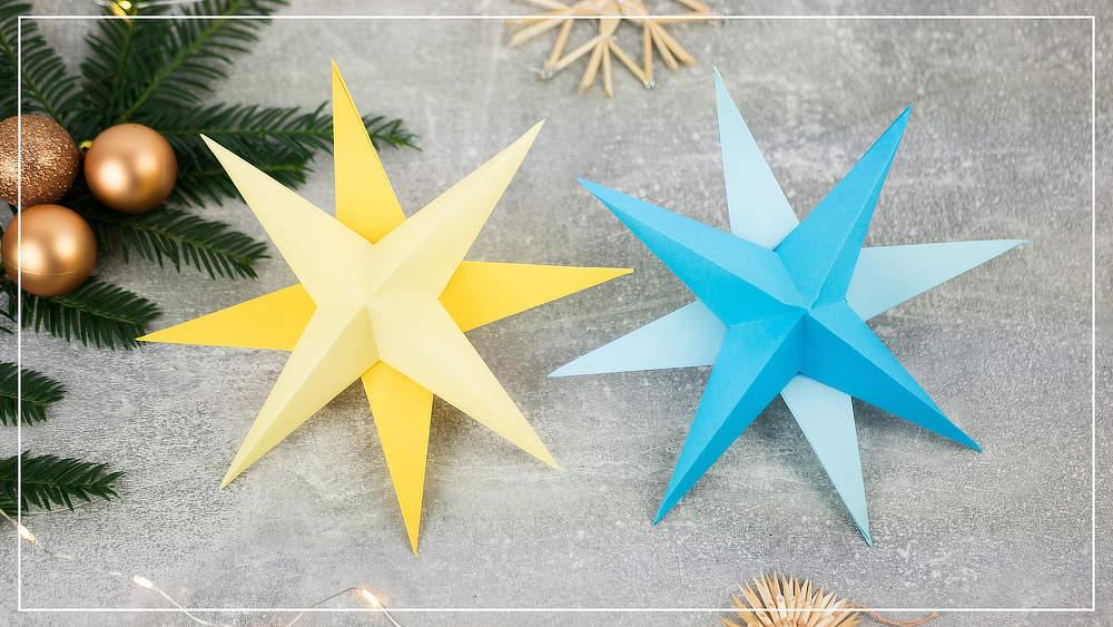 Sterne, zweifarbig